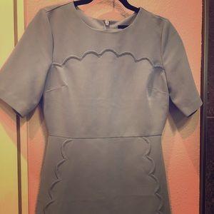 Top shop baby blue mini dress size 6